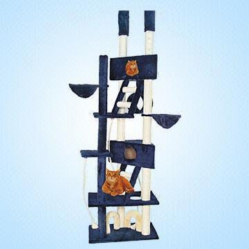 Sell Deluxe Cat Scratching Tree with Play Tunnel