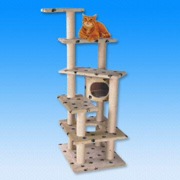Sell Cat Scratcher Tree in Height of 140cm