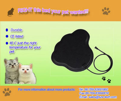 pet heated mat/board