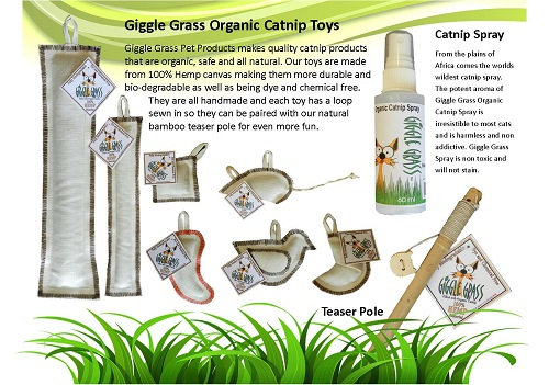 Giggle Grass Catnip Toys and Accessories