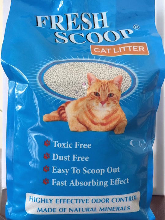 Cat Litter: Fresh Scoop