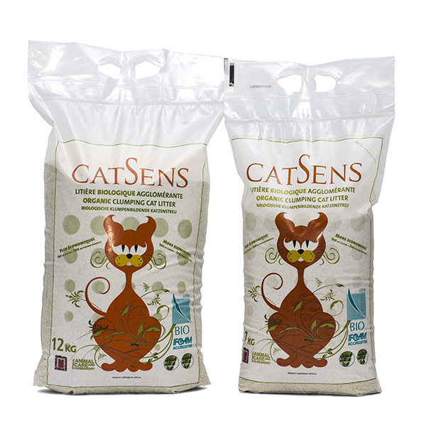 CATSENS   (The only REAL CERTIFIED ORGANIC cat litter)